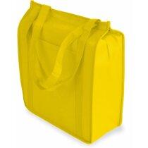 Bolsa nevera non woven personalizada amarilla