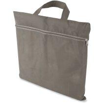 Maletín portadocumentos de non woven personalizado gris