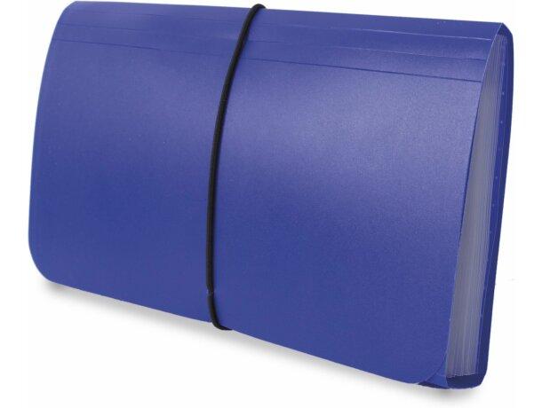 Carpeta clasificadora de recibos en plástico de colores