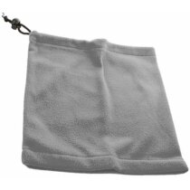 Braga polar con función de gorro personalizada gris