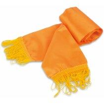 Bufanda con flecos de colores