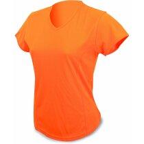 Camisetas Dry & Fresh señora naranja naranja