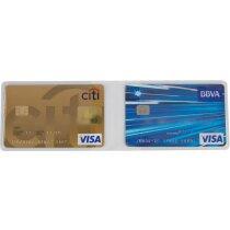 Funda doble de tarjetas horizontal