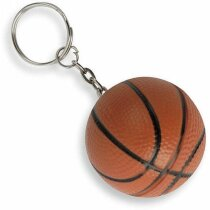 Llavero antiestrés pelota de baloncesto