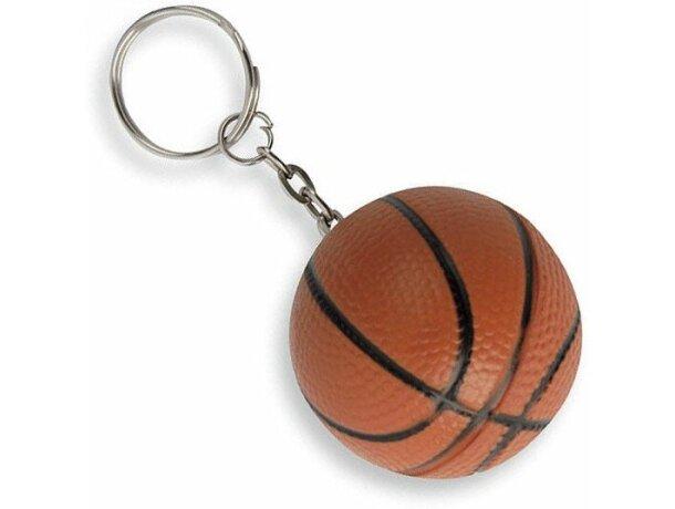 Llavero antiestrés pelota de baloncesto personalizado
