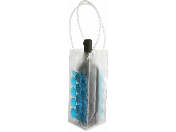 Bolsa enfriadora de botellas azul