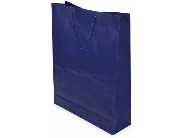 Bolsa de pvc en varios colores para regalo azul