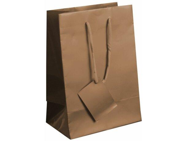 Bolsa de papel plastificado para regalo