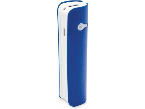 Batería portátil de diseño de 2200mah personalizada azul