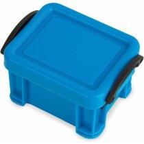 Pastillero grande contenedor personalizado azul