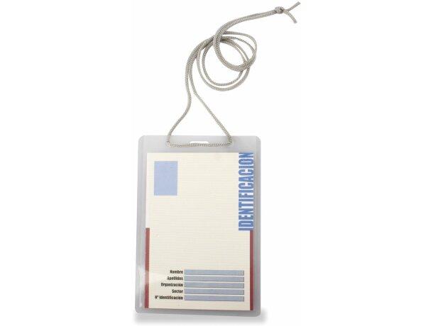 Identificador rifido pvc con cordón