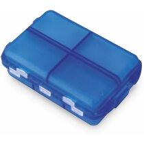 Pastillero semanala con 6 secciones azul