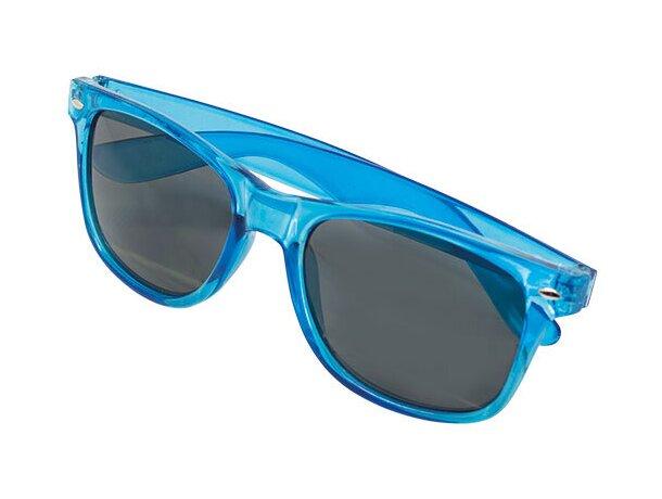 Gafas de sol transparentes azul