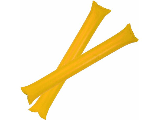 Palos inflables personalizado amarillo