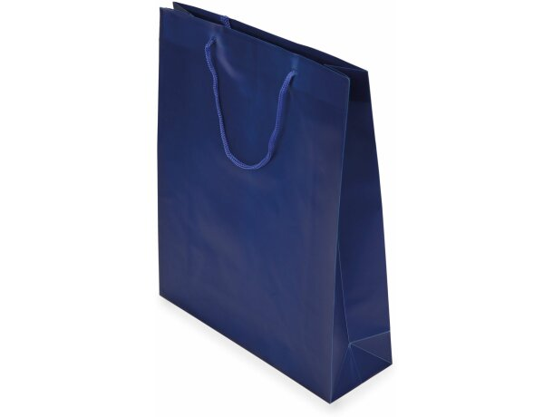 Bolsa de pvc elegante para regalo azul