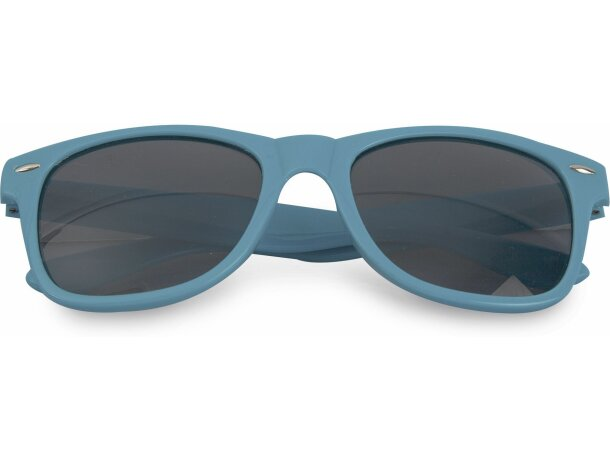 Gafas de sol pvc 400 uv azul personalizado