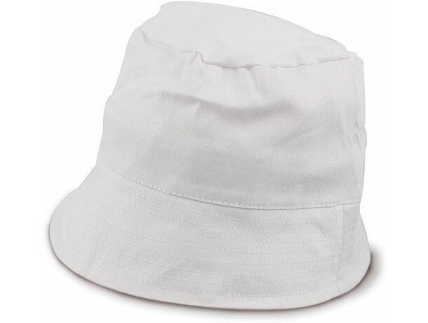 Gorro formato pescador de algodón personalizado blanco 295c51837a8