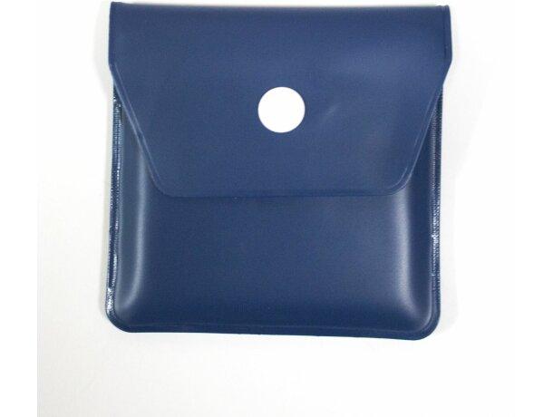 Cenicero de bolsillo de colores personalizado azul