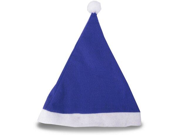 Gorro de Navidad azul barato