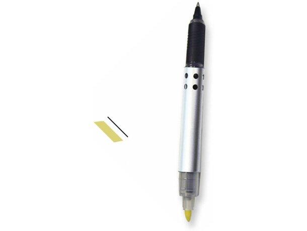 Roller de gel plata y amarillo