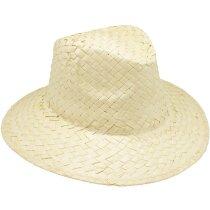 Sombrero especial de paja clarito personalizado