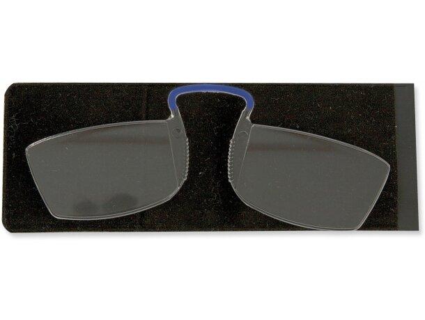 Gafas con lupa personalizada azul