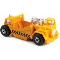 Camión de juguete de plástico y metal grabada