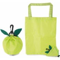 Bolsa plegable con forma de manzana personalizada
