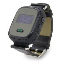 Reloj con localizador para ancianos personalizado negro