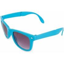 Gafas de sol de polipropileno plegables personalizada azul