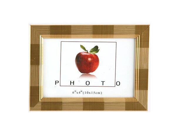 Portafotos de madera 10x15 cm oro