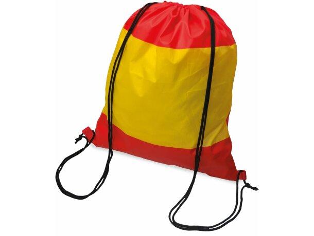 Bolsa mochila con cuerdas con bandera de España
