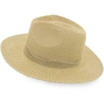 Sombrero color paja personalizado