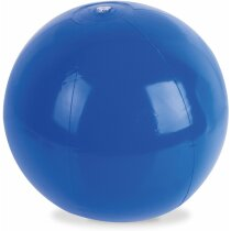 Balón de playa opaco en varios colores personalizado azul