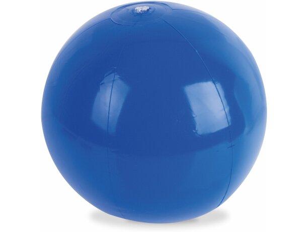 Balón de playa opaco en varios colores azul
