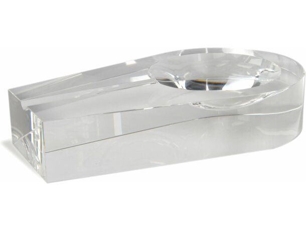 Cenicero de cristal para grabar personalizado