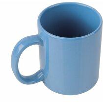 Mug Porcelana azul claro