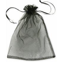 Bolsa de organza para detalles varios colores negra