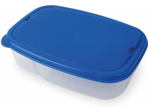 Fiambrera básica en varios colores azul