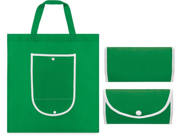 Bolsa nw plegable classic verde