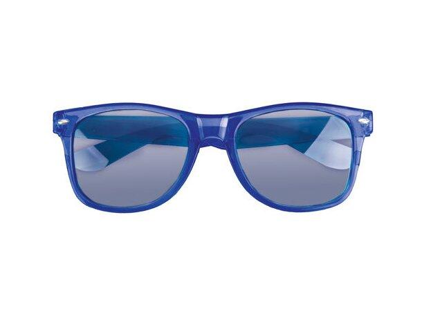 Gafas de sol transparentes personalizado azul marino