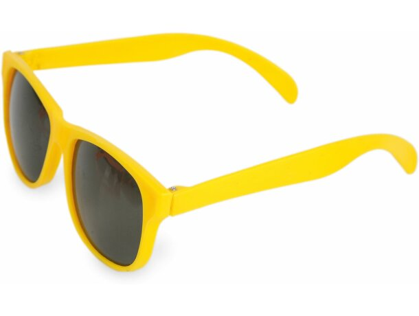 Gafas de sol gran surtido de colores amarilla personalizado