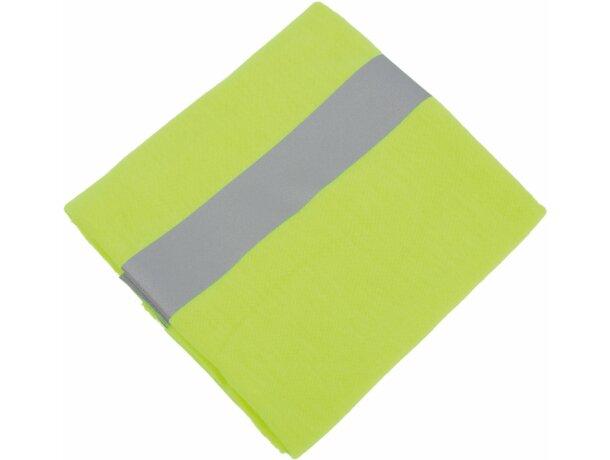 Braga deportiva alta visibilidad personalizada amarilla