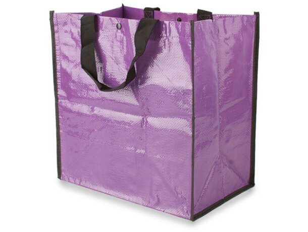Bolsa de la compra en polipropileno lila