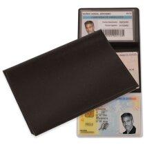 Porta tarjetas triple personalizado