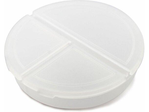 Pastillero redondo con 3 secciones hielo
