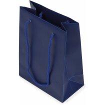 Bolsa de regalo de pvc resistente azul