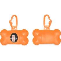 Porta bolsas para mascotas en forma de hueso