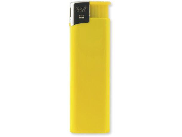 Mechero de piedra en varios colores amarilla personalizado