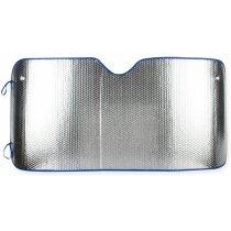 Parasol de aluminio con borde de colores personalizado azul